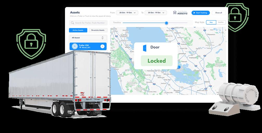 Door sensor from TruckX