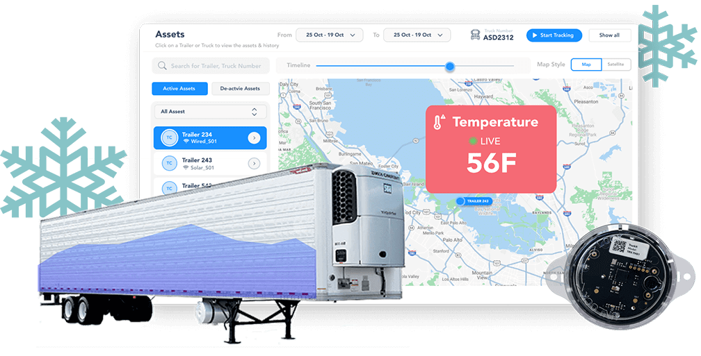 temperature & humidity sensor from TruckX